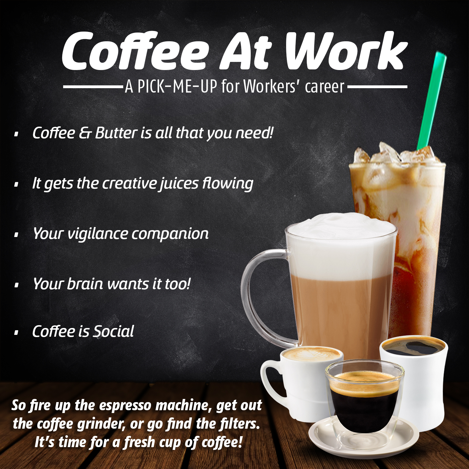 """The Coffee Effect"" – Secret weapon for increased productivity"